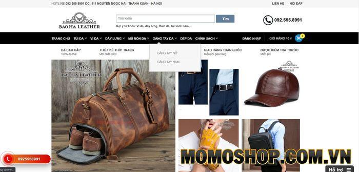 Cửa hàng BaoHa Leather - Túi đeo chéo nam Hà Nội