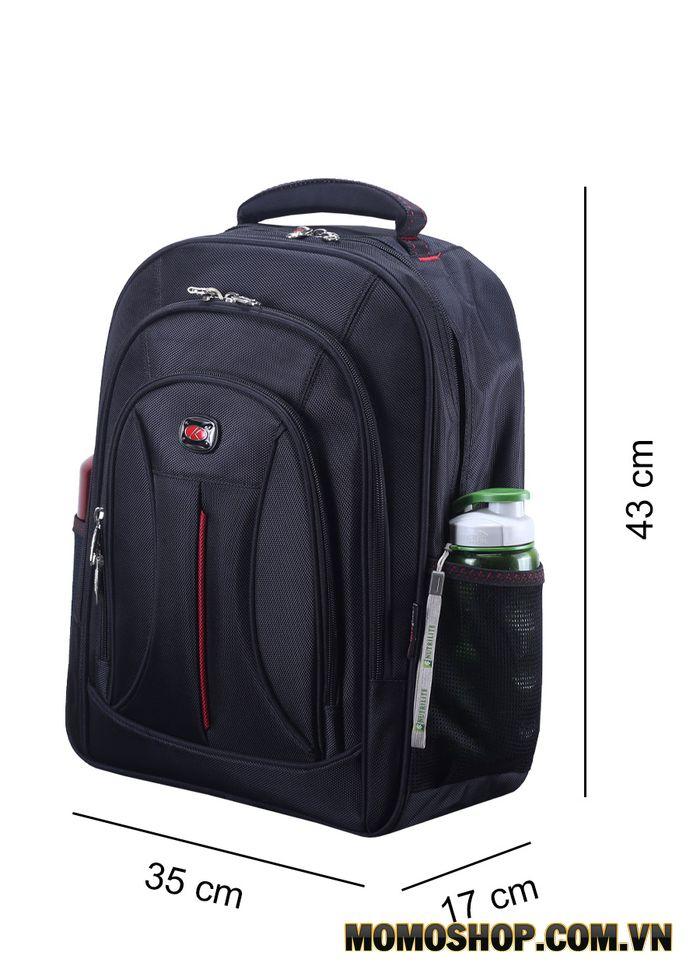 Kích thước trung bình của balo laptop 15,6 inch