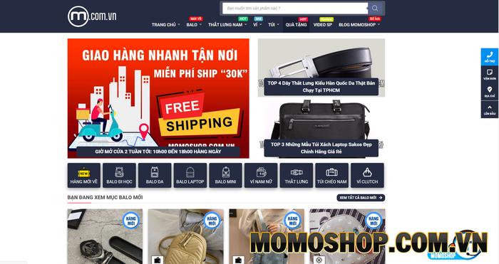 Momoshop - Cung cấp các sản phẩm thắt lưng nam hành hiệu chất lượng
