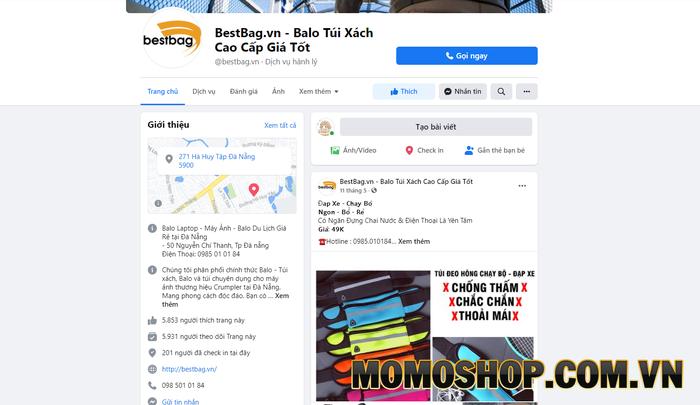 Best Bag - Shop bán balo laptop độc nhất tại Đà Nẵng