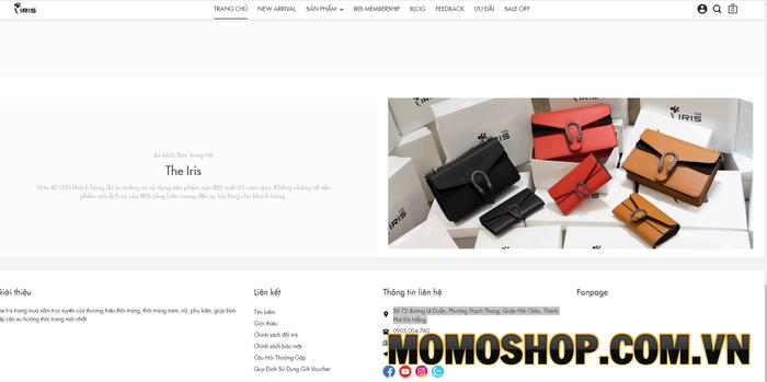 Iris Shop - Chuyên cung cấp các mẫu balo laptop thời trang