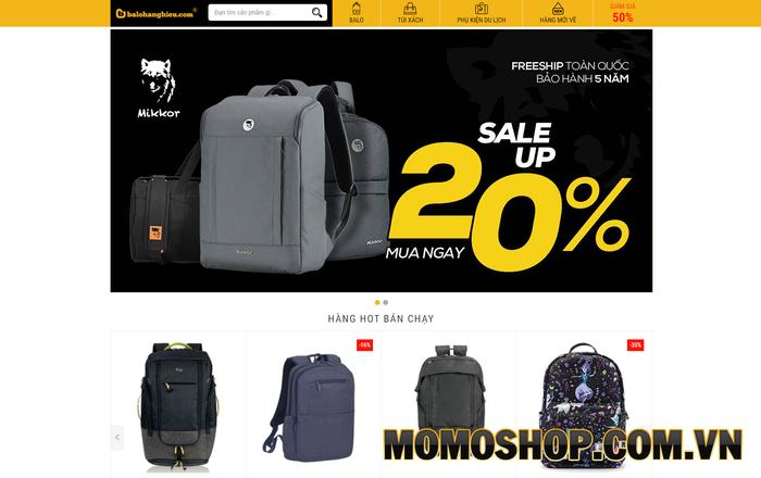 Balohanghieu.com - Đại lý chính thức của nhiều thương hiệu nổi tiếng trên thế giới