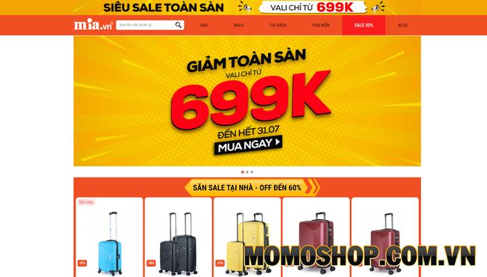 MIA.vn - Shop bán túi xách laptop nữ đẹp của nhiều thương hiệu