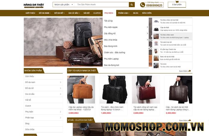 Cặp túi da shop - Làm hài lòng từ những khách hàng khó tính nhất