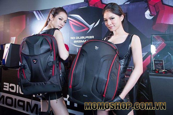 Balo laptop Asus ROG Nomad - Thiết kế mạnh mẽ dành cho các game thủ
