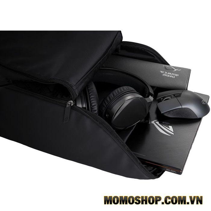 Balo laptop Asus Backpack 15 inch - Thiết kế nhỏ gọn và tiện lợi