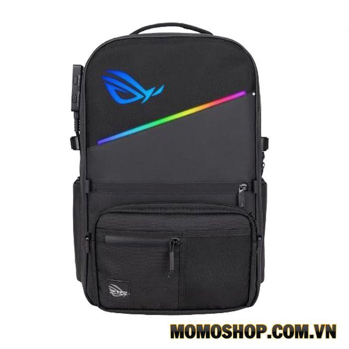 Balo laptop Asus ROG Ranger RGB - Thiết kế đèn LED RGB cùng với hiệu ứng Aura độc đáo