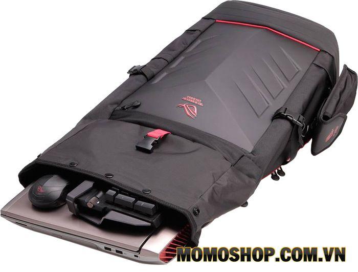 Balo laptop Asus ROG Ranger 17.3 Inch - Thiết kế an toàn, mạnh mẽ, cá tính