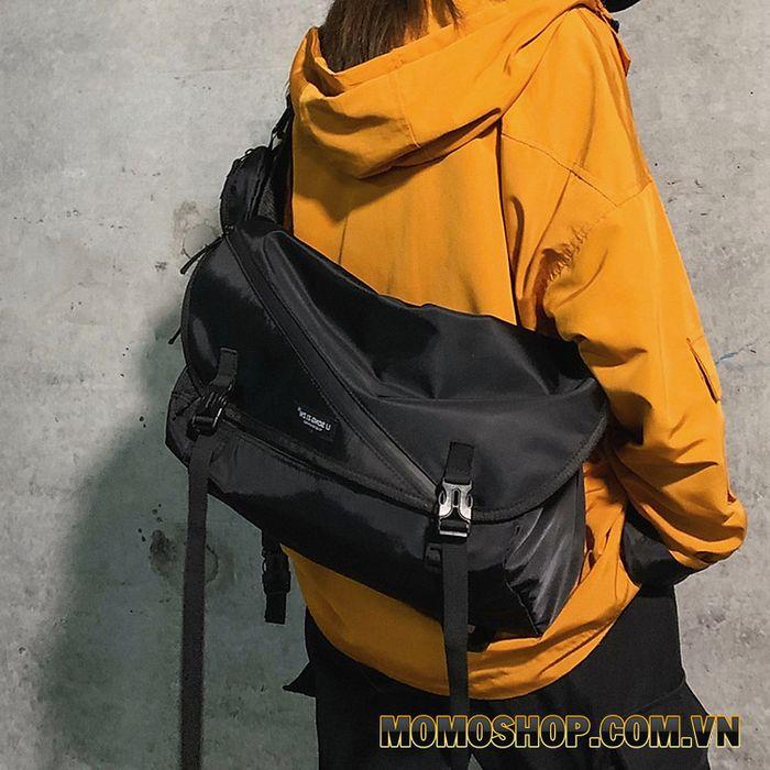Balo laptop đeo chéo 15.6 inch chống thấm nước