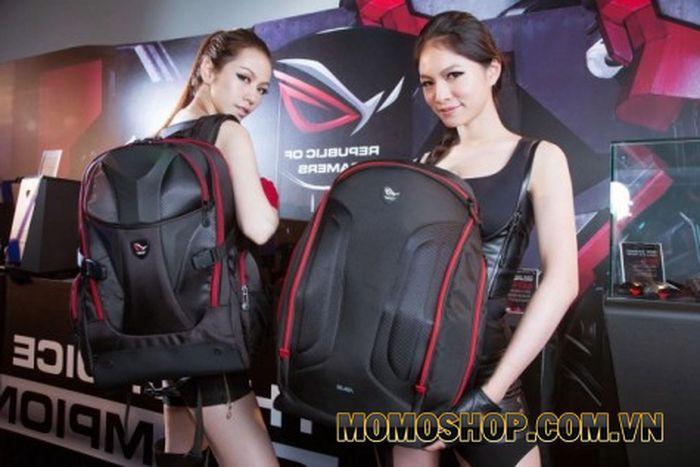 """Balo laptop Asus ROG Nomad - Thiết kế vô cùng mạnh mẽ, được khá nhiều """"chiến binh game"""" ưa chuộng"""