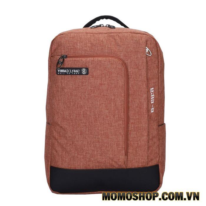 Balo laptop Simplecarry E-City 2 Brown