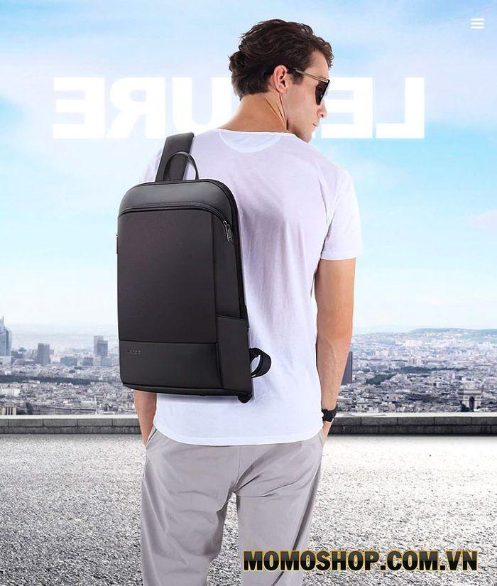 Balo laptop thời trang doanh nhân Bopai siêu mỏng nhẹ 15.6