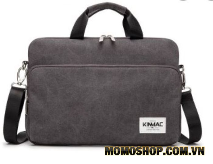 Túi chống sốc laptop kinmac có quai đeo.