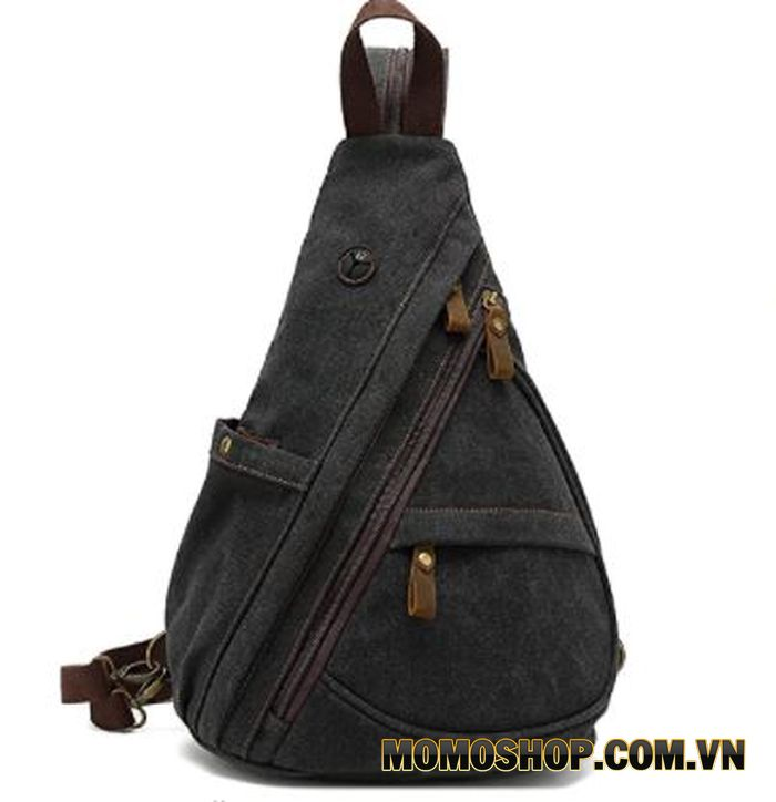 KEYCENT Canvas Sling Bag Casual Daypack