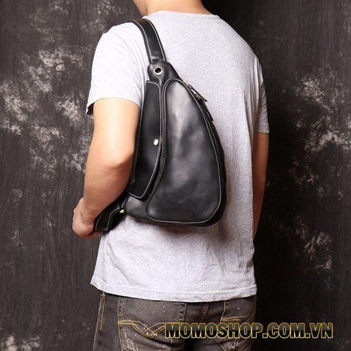 Túi đeo chéo da thật năng động cá tính cực phong cách