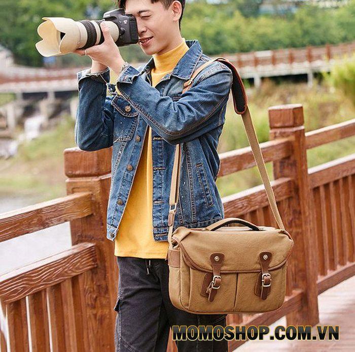 Túi máy ảnh vải chống thấm nước