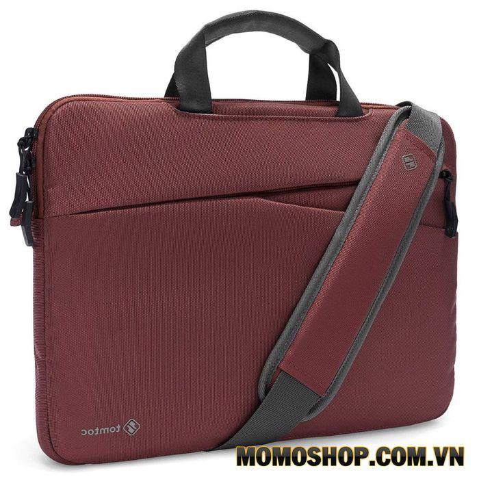 Túi xách laptop nữ thời trang Tomtoc A45: Thiết kế tinh tế, hiện đại với gam màu đỏ nhã nhặn