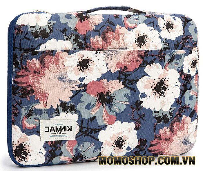 Túi xách laptop nữ thời trang KinMac họa tiết hoa hồng - Thiết kế nổi bật, cá tính