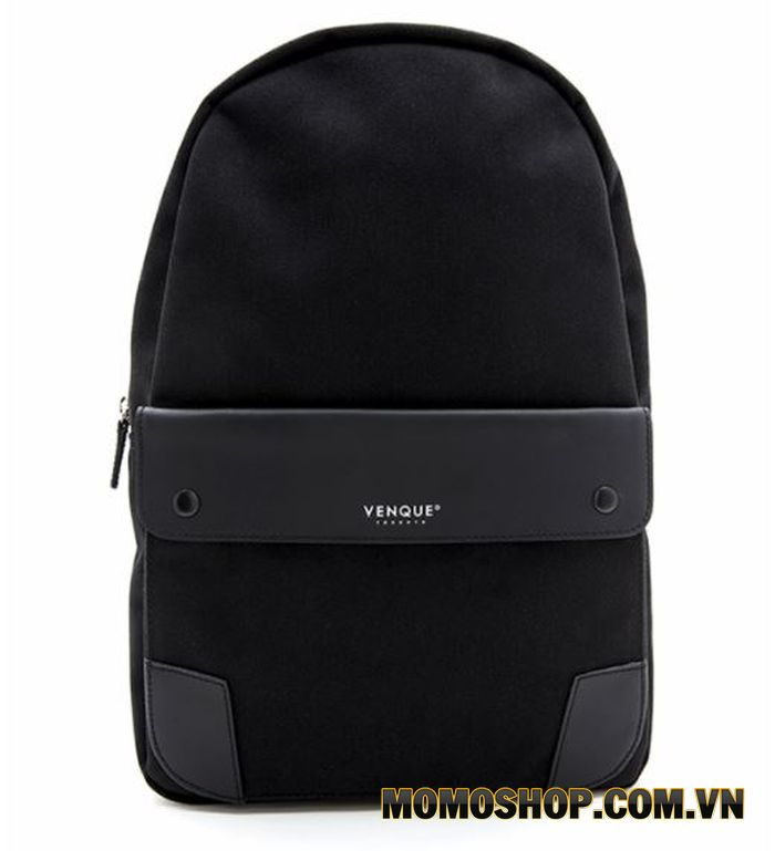 Balo laptop nhỏ gọn Venque Classic Backpack BE BE M Black