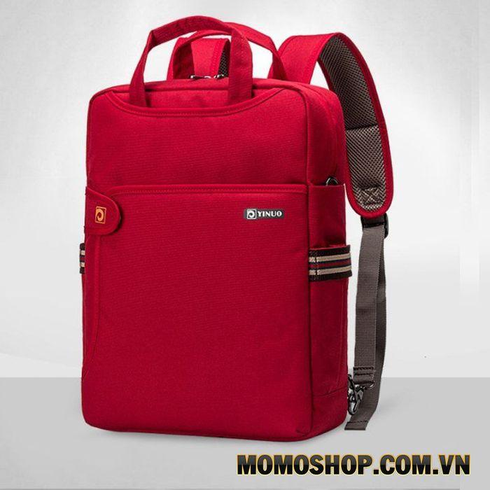 Balo laptop gọn nhẹ kiêm túi đeo dọc Yinuo